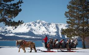 Lake Sleigh ride