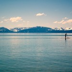Paddle Boarding from Lakeshore Lodge Beach