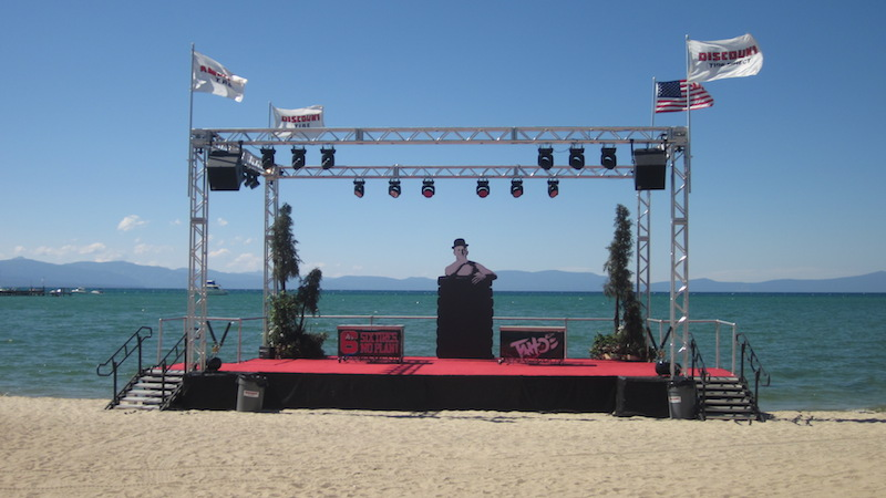 Group Actives and Venues on Lake Tahoe